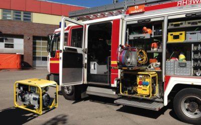 Stromerzeuger Feuerwehr